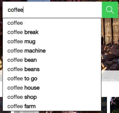 use related terms to help find images