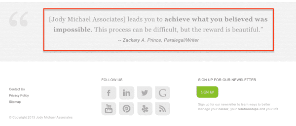 Website Footer Design Best Practices 27 Things To Put At The Bottom