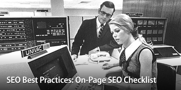 SEO Best Practices - On-Page SEO Checklist | Orbit Media