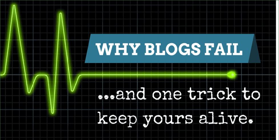 Why Do Blogs Fail?