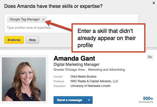 LinkedIn-profile-skills