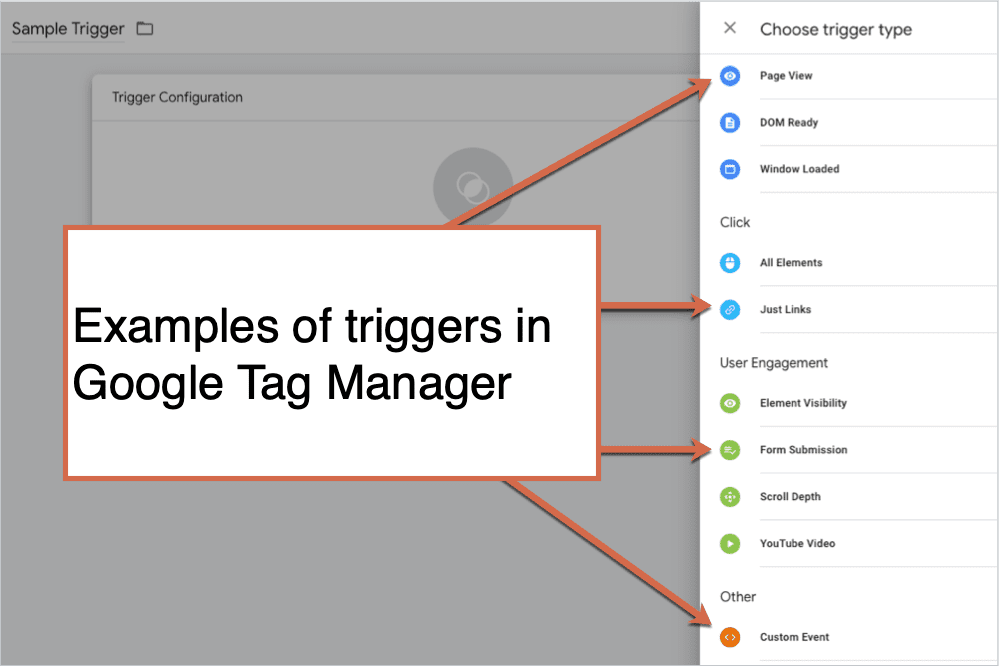 Examples of Triggers in Google Tag Manager