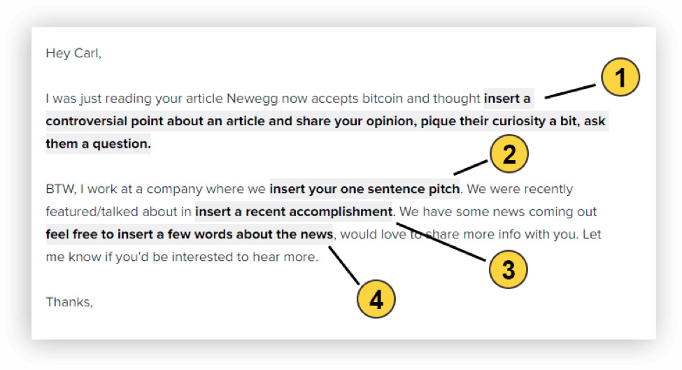 8 Media Pitch Examples to Help You Get Noticed | Orbit Media