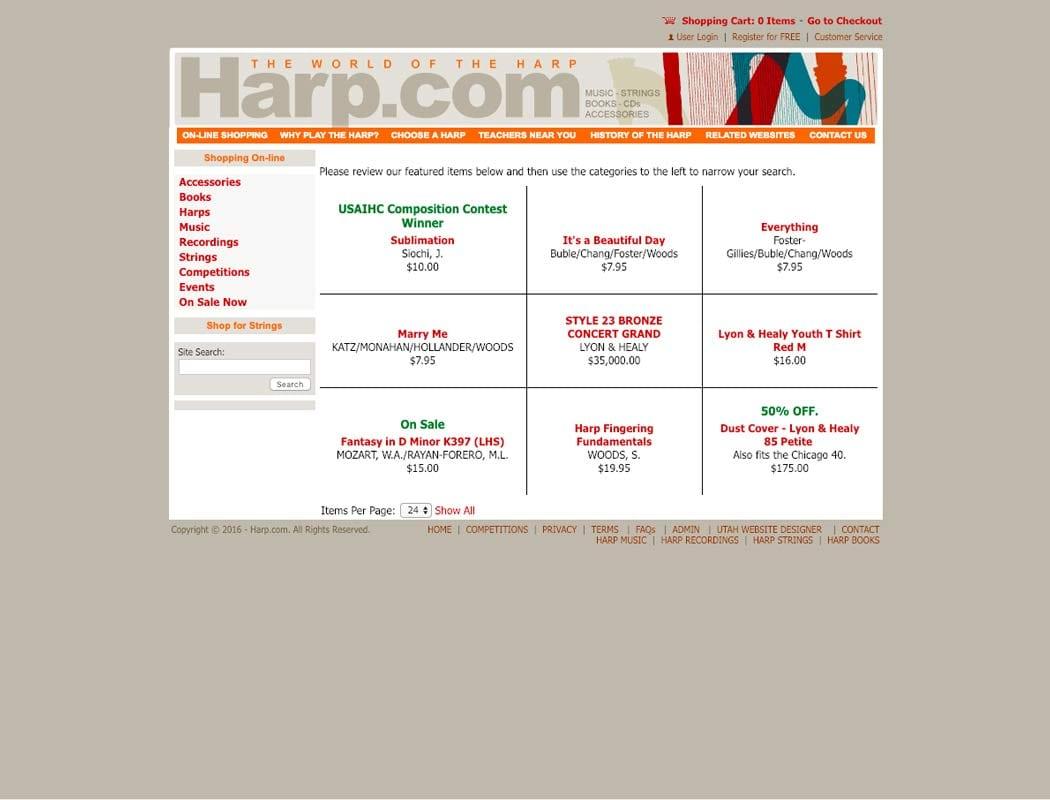 Harp com | Orbit Media Studios