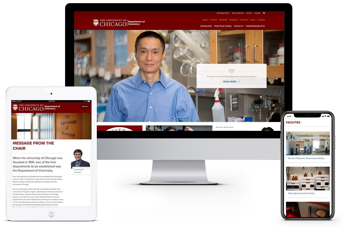 University of Chicago Department of Chemistry