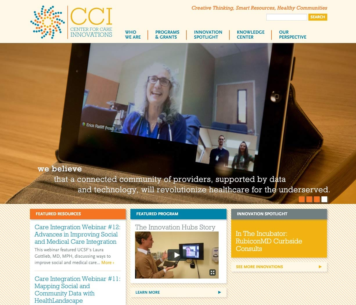 Center for Care Innovations | Orbit Media Studios