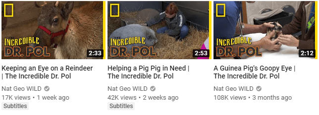 YouTube thumbnail cover image example