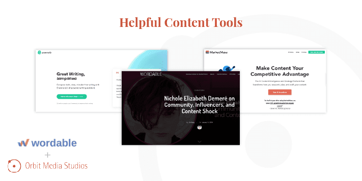 helpful content tools