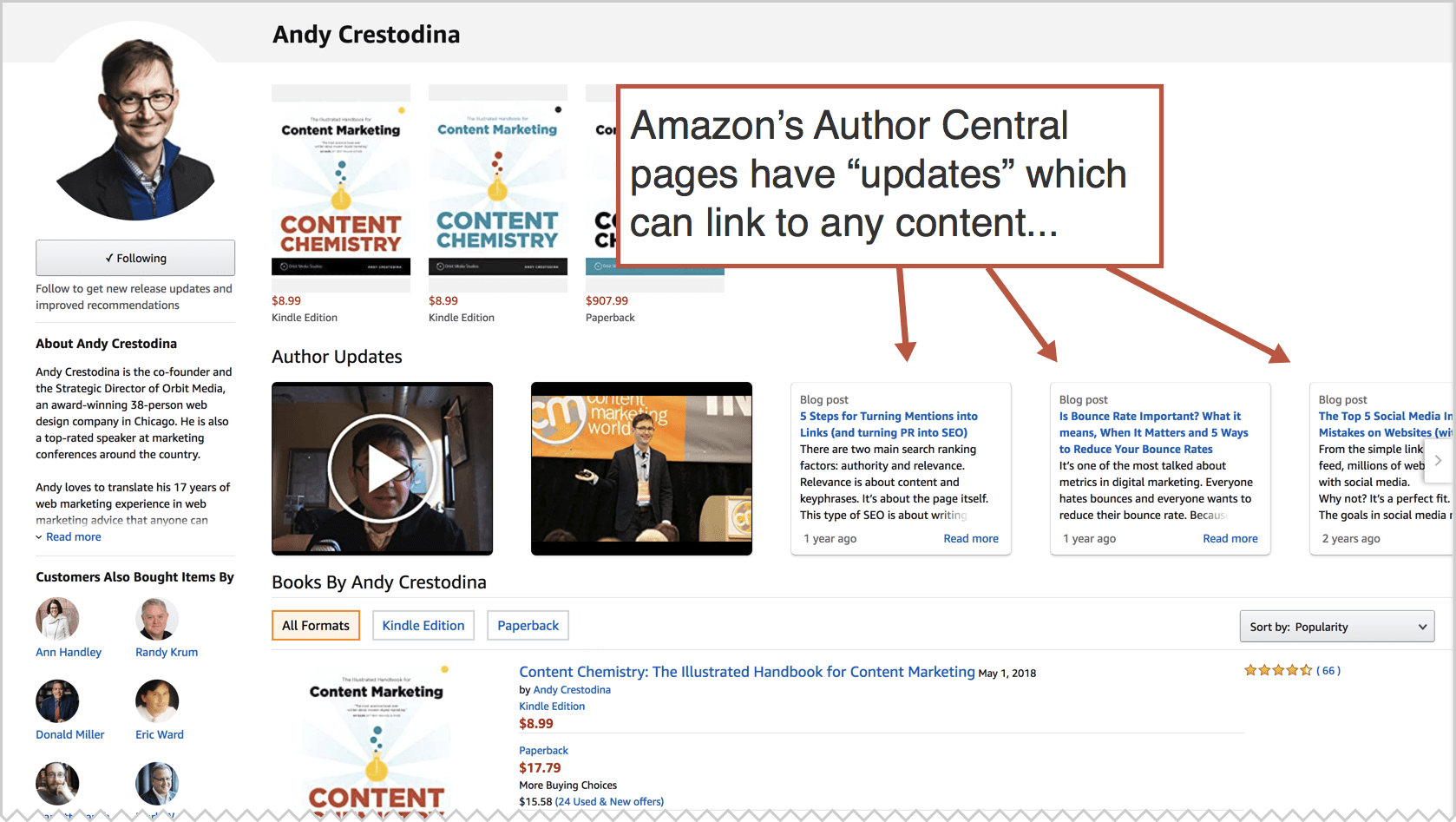 amazon author central example