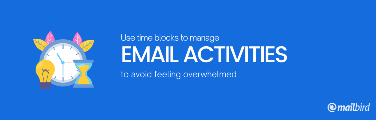 use time blocks for email